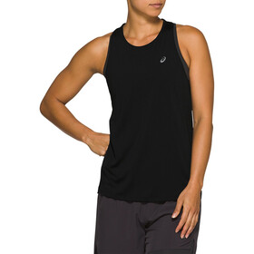 asics Race Mouwloze Top Dames, performance black